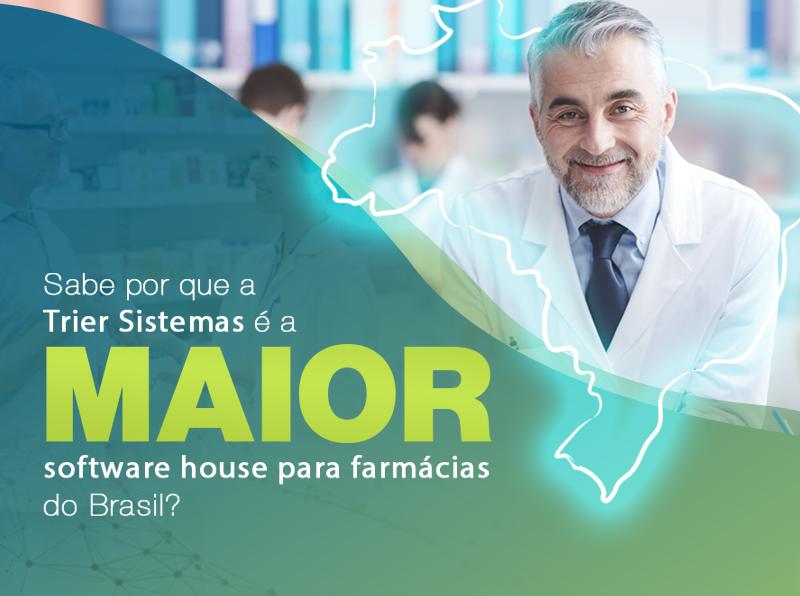 Sabe por que a Trier Sistemas é a maior software house para farma do Brasil?