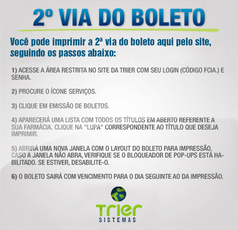 2ª Via de Boletos